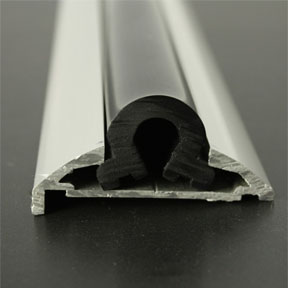 ALI 606 Boat Rub Rail Shown with PVC 1066 Insert photo front
