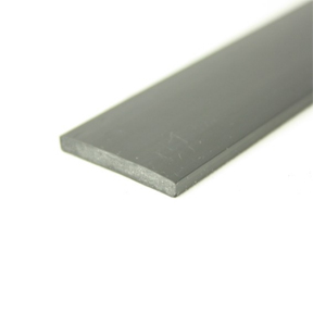 25 x 3mm Rigid PVC Strip angle