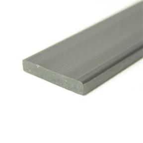 38 x 6mm Rigid PVC Strip angle