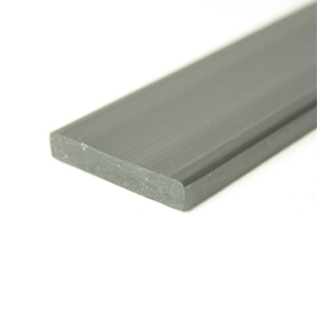 38 x 6mm Rigid PVC Strip angle