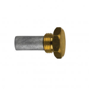 02010/99t AIFO-FTP Complete Zinc Pencil Anode with Brass Plug