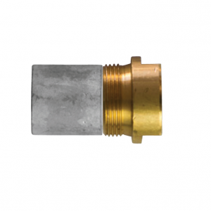 02011t/98 AIFO-FTP Complete Zinc Pencil Anode with Brass Plug