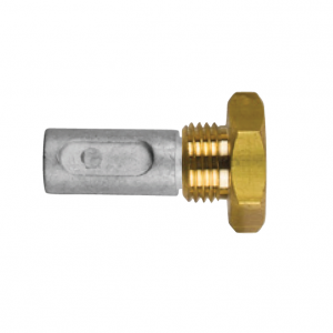 02012t AIFO-FTP Complete Zinc Pencil Anode with Brass Plug