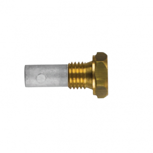 02013t AIFO-FTP Complete Zinc Pencil Anode with Brass Plug