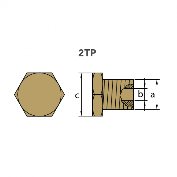 2TP Plug Drawing