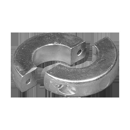 00550L range Slim Collar Anode unclamped