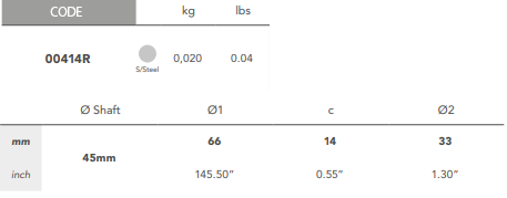 00414R Tab Washer size
