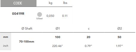 00419R Tab Washer size