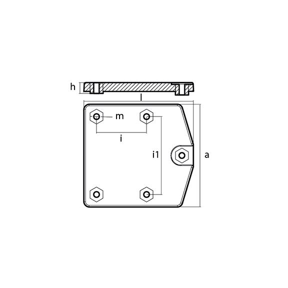 00843 Mercury Zeus POD Trim Tab Anode technical specifications