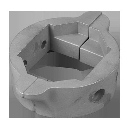 01552: Split Saildrive Collar Anode for Lombardini complete
