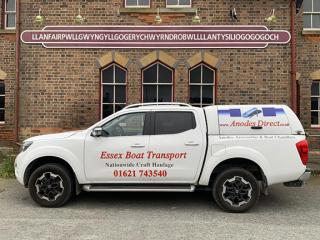 Essex Boat Transport at LLANFAIRPWLLGWYNGYLLGOGERYCHWYRNDROBWLLLLANTYSILIOGOGOGOH