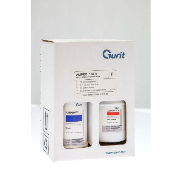 ampro clear resin hardener pack sp320