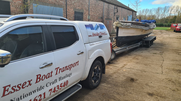 Essex Boat Transport on route to Yorkshire