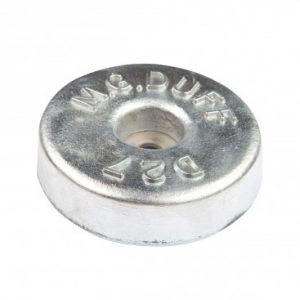 AD27 Aluminium Disc Anode 1.0kg 135mm Diameter
