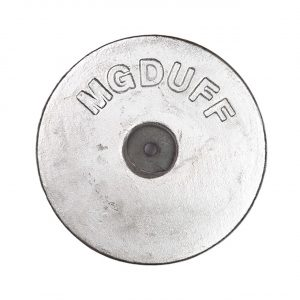 AD55 Aluminium Disc Anode 2.8kg 229mm Diameter